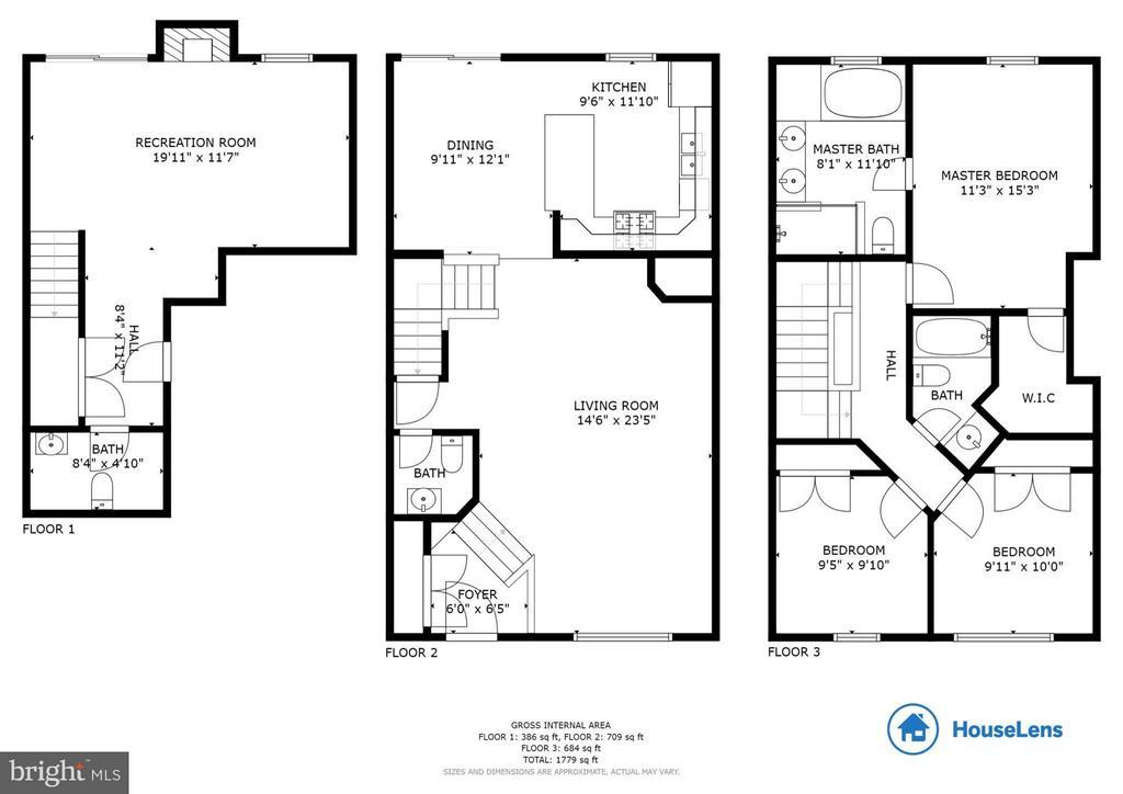 Floor Plan - 502 STAFFORD GLEN CT, STAFFORD