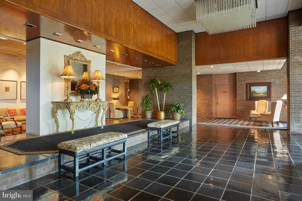 Main Lobby, includes a front desk - 1800 OLD MEADOW RD #915, MCLEAN