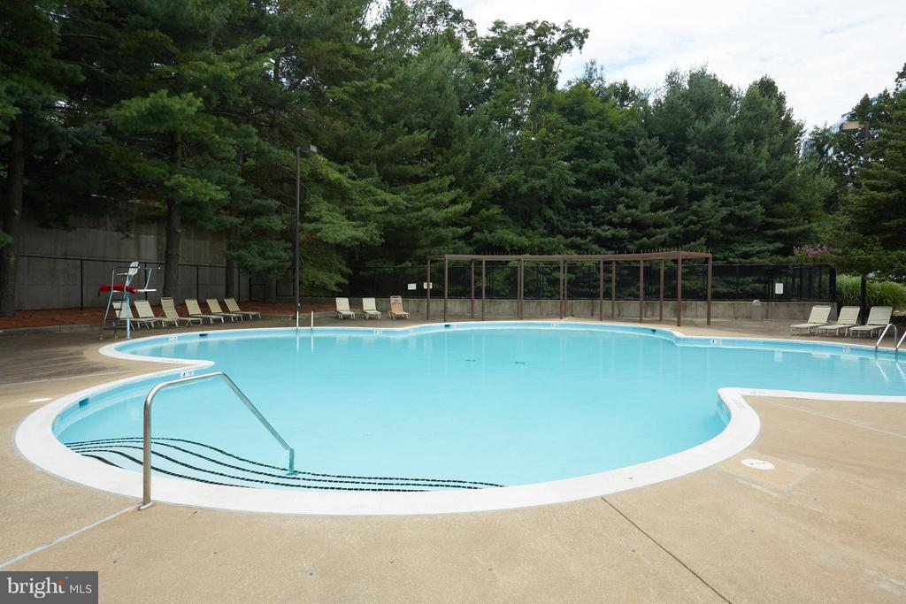 Building Pool - 1800 OLD MEADOW RD #915, MCLEAN