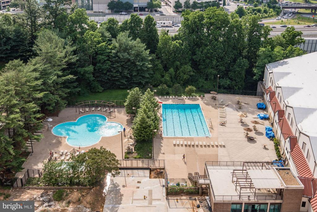 3 Pools! - 1800 OLD MEADOW RD #915, MCLEAN