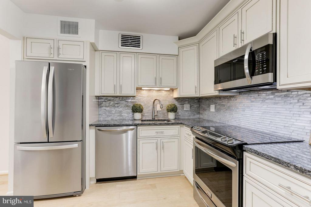 Brand New Kitchen - 1800 OLD MEADOW RD #915, MCLEAN