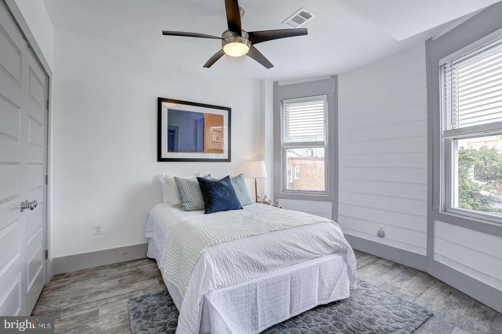 Bedroom #2 (1 of 2) - 1023 OTIS PL NW, WASHINGTON