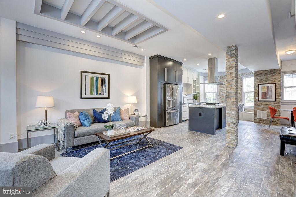 Living Room (1 of 3) - 1023 OTIS PL NW, WASHINGTON