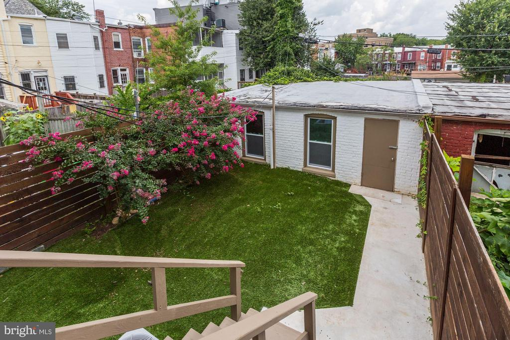 Rear Yard (2 of 2) - 1023 OTIS PL NW, WASHINGTON
