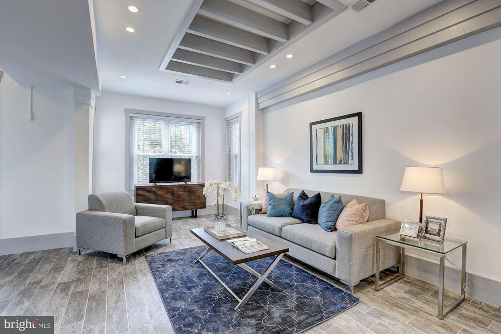 Living Room (2 of 3) - 1023 OTIS PL NW, WASHINGTON