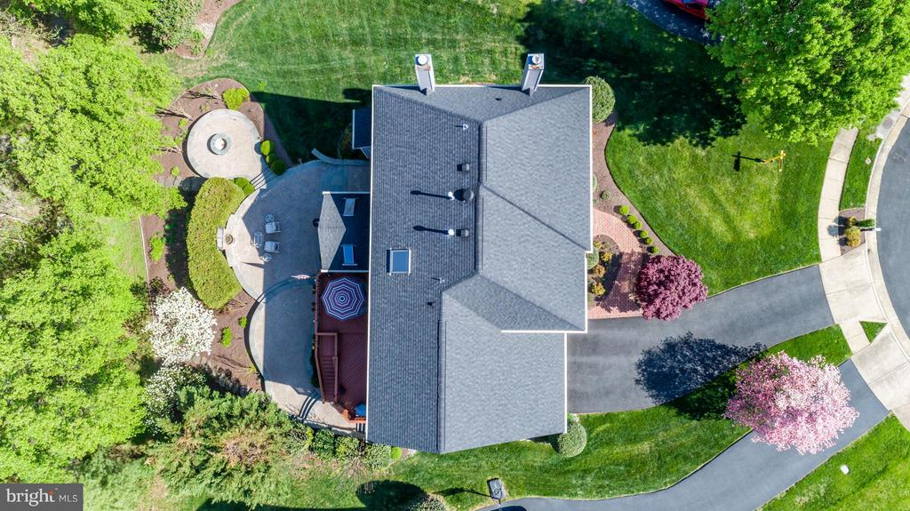 Aerial Shot of Home and Dream Backyard - 21303 WINDRUSH CT, STERLING