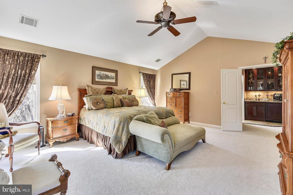 Spacious Master Bedroom with 2 Walk-in Closets - 21303 WINDRUSH CT, STERLING