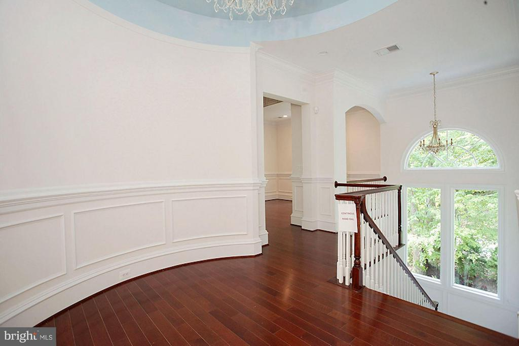Rotunda Wall - 1347 KIRBY RD, MCLEAN