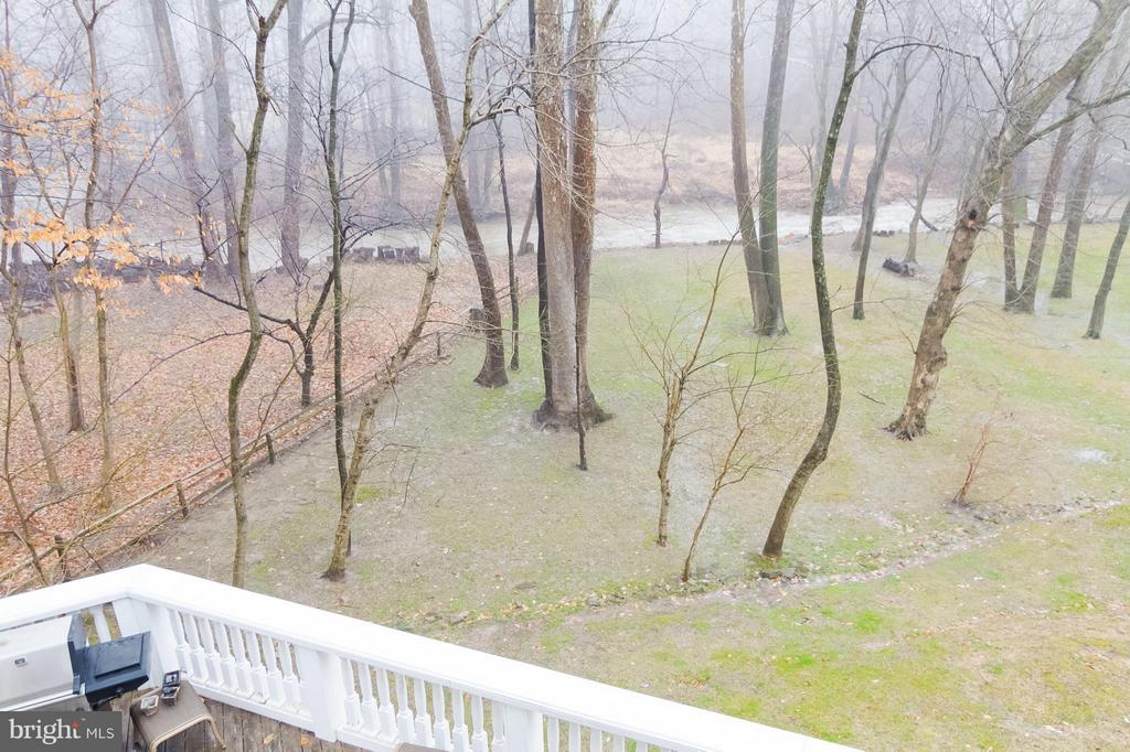 Balcony view to Pimmit Run - 1347 KIRBY RD, MCLEAN