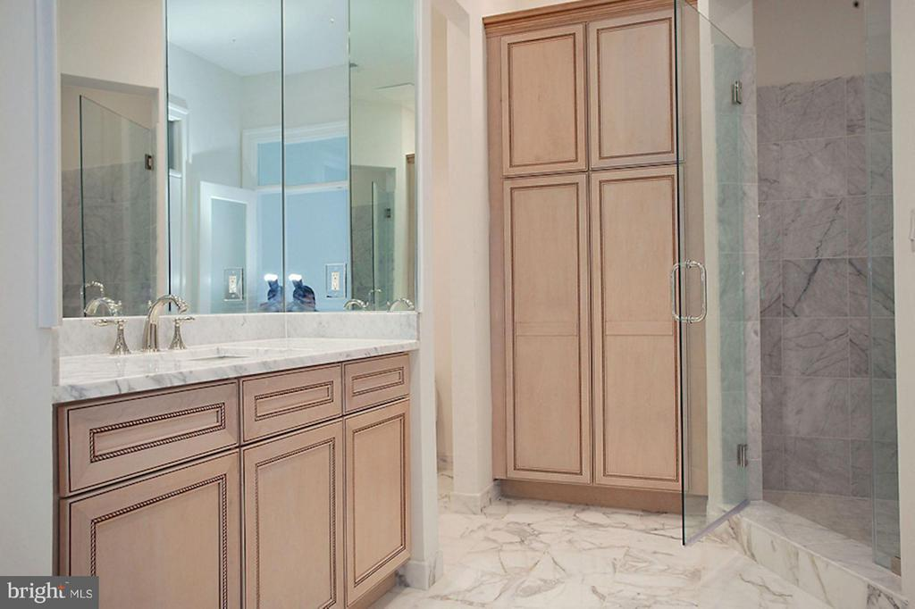 Bath (Master) His with walk in closet - 1347 KIRBY RD, MCLEAN
