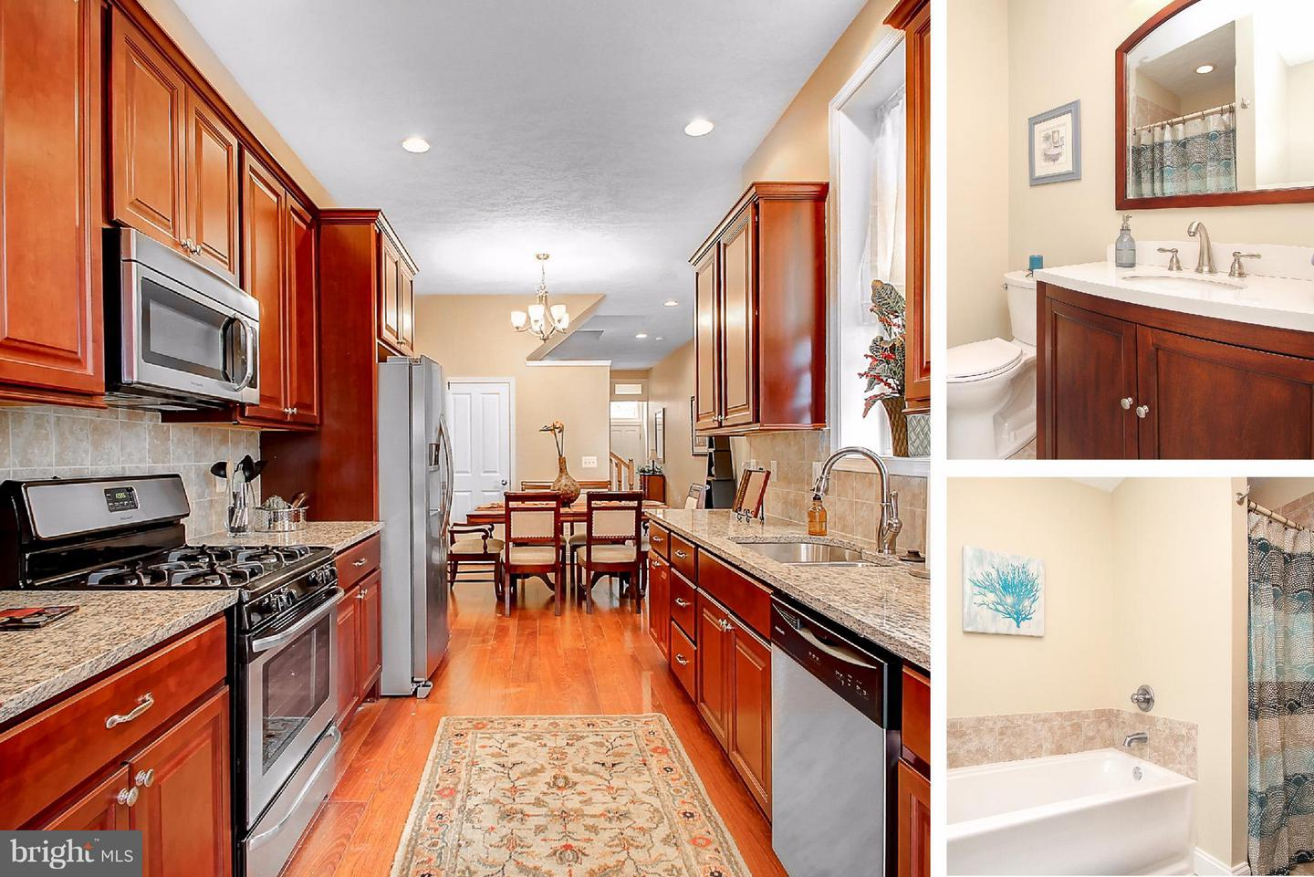 Single Family for Sale at 1532 Caroline St N Baltimore, Maryland 21213 United States