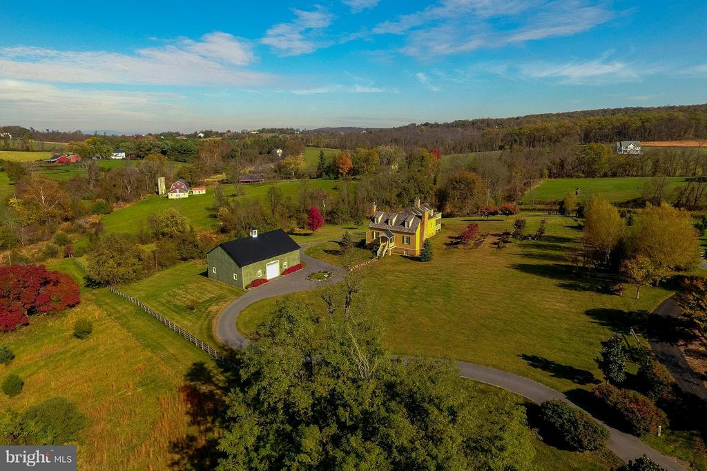 Aerial overview of property - 15826 OLD WATERFORD RD, PAEONIAN SPRINGS