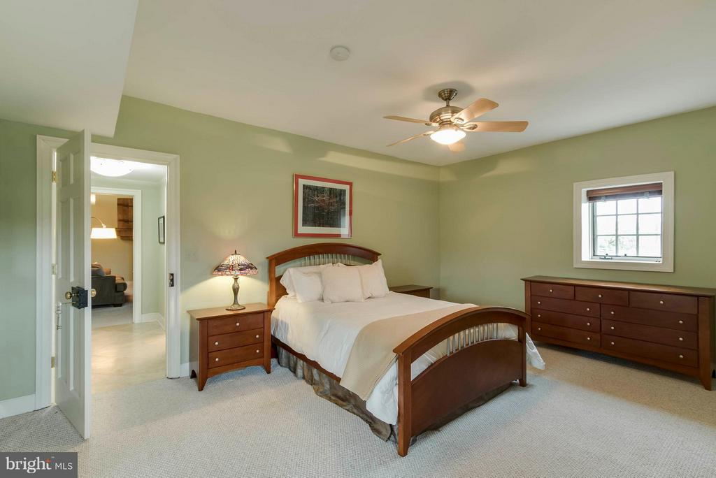 Basement bedroom - 15826 OLD WATERFORD RD, PAEONIAN SPRINGS