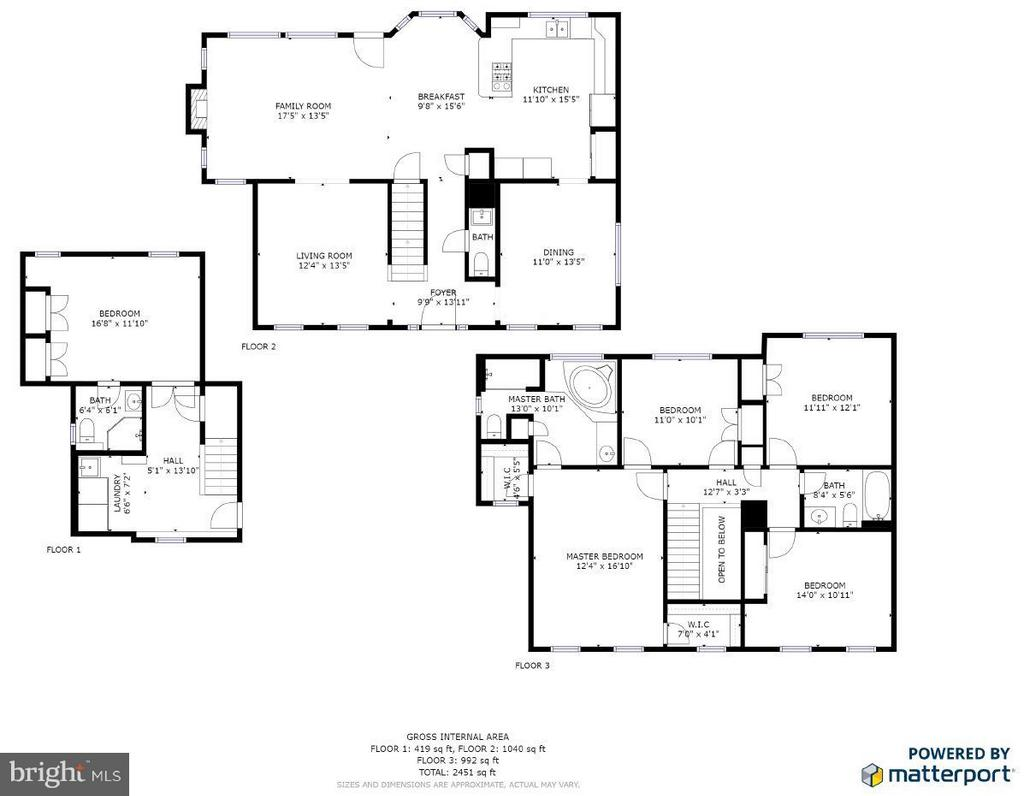 Floor Plan - 113 COLUMBUS CV, STAFFORD