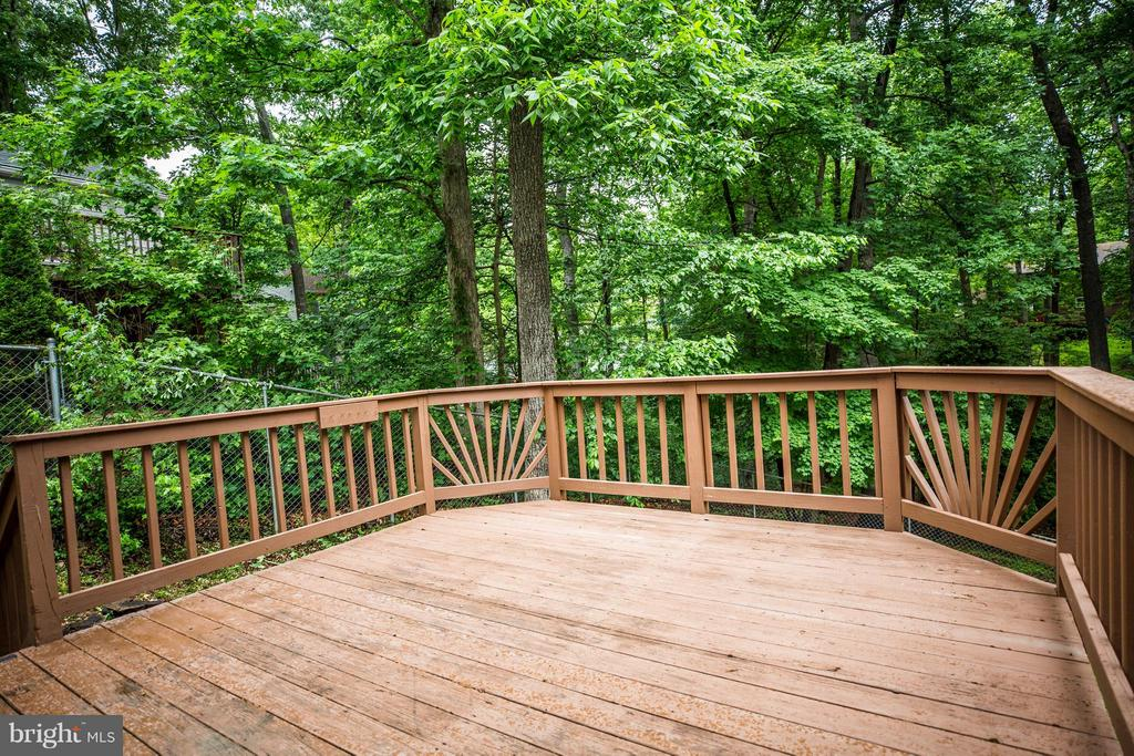 Big Deck for entertaining - 113 COLUMBUS CV, STAFFORD