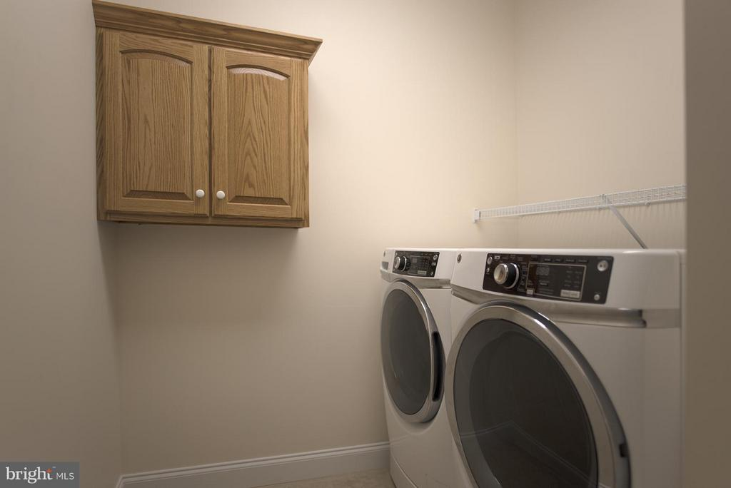 Laundry room - 12903 HAWKINS CIR #53, HAGERSTOWN