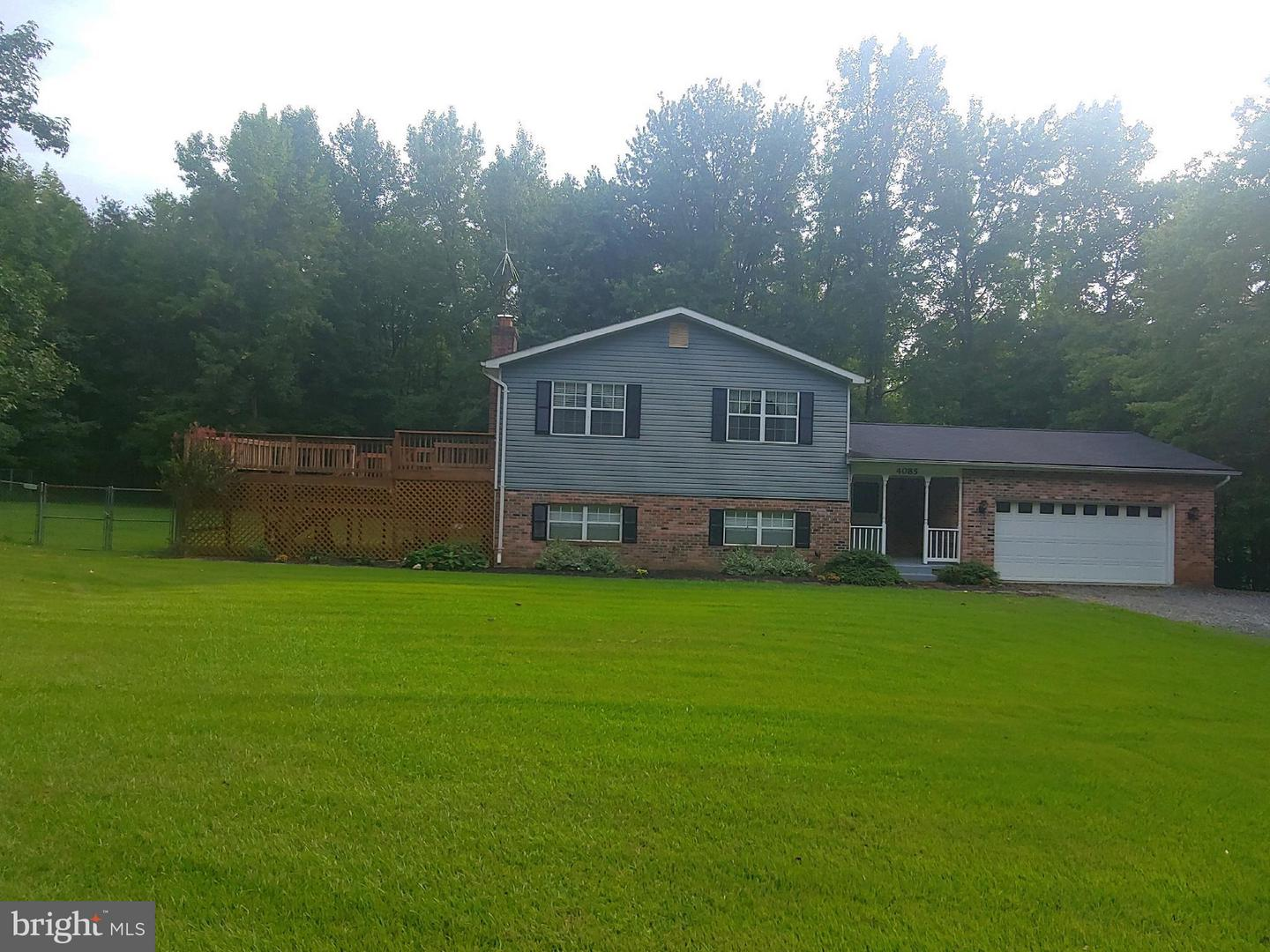 Single Family for Sale at 4085 Sweetman Rd Marbury, Maryland 20658 United States