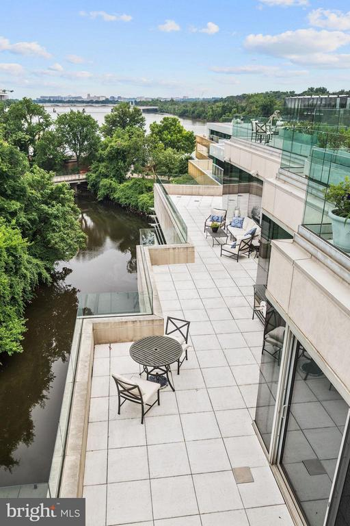 Two Tiered Terrace Covering 3,500 SF - 2900 K ST NW #601, WASHINGTON