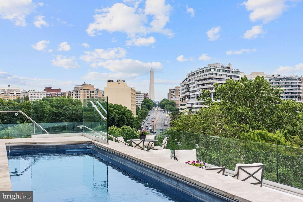 Private 40 Foot Pool W/ Extraordinary Views - 2900 K ST NW #601, WASHINGTON