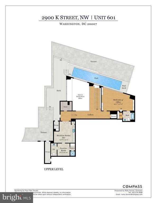Floor Plans, Level 2 - 2900 K ST NW #601, WASHINGTON