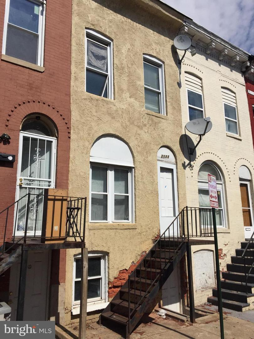Single Family for Sale at 2022 Ridgehill Ave Baltimore, Maryland 21217 United States