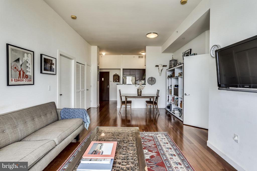 Open floor plan - 1000 NEW JERSEY AVE SE #PENTHOUSE 10, WASHINGTON