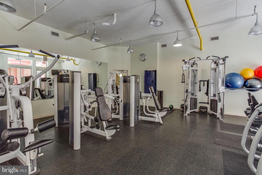 Gym - 1000 NEW JERSEY AVE SE #PENTHOUSE 10, WASHINGTON