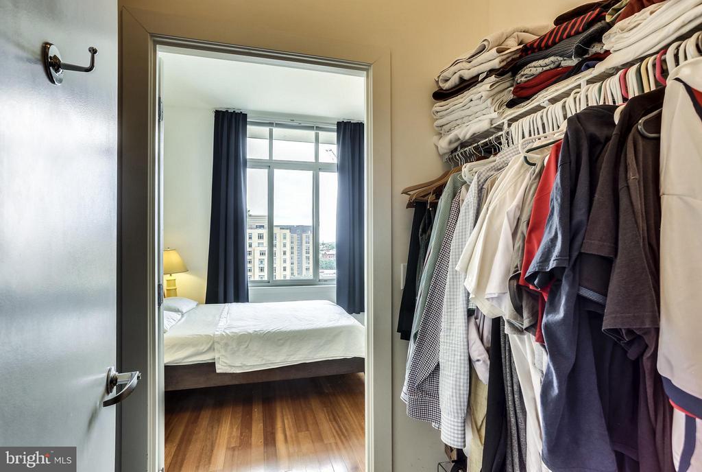 Huge walk-in closet - 1000 NEW JERSEY AVE SE #PENTHOUSE 10, WASHINGTON