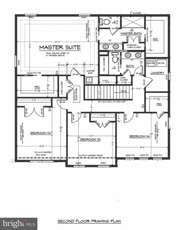 Upper Level Floor Plan - 6603 ACCIPITER DR, NEW MARKET
