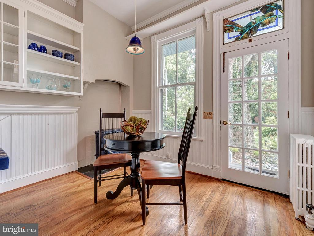 Enjoy morning coffee in this breakfast nook. - 30 3RD ST, FREDERICK