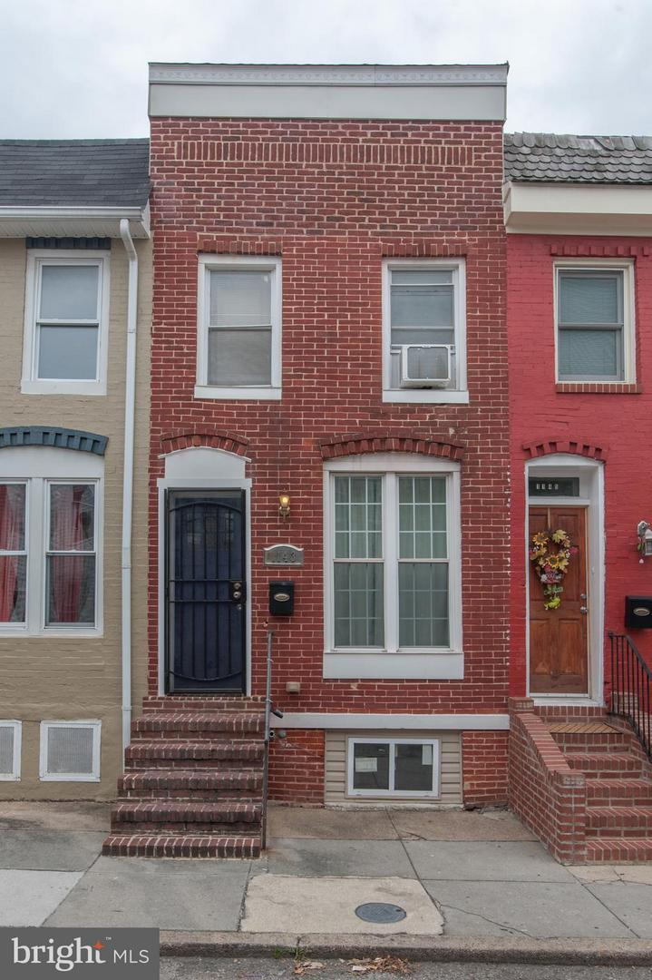 Photo of home for sale at 1143 Cleveland Street, Baltimore MD