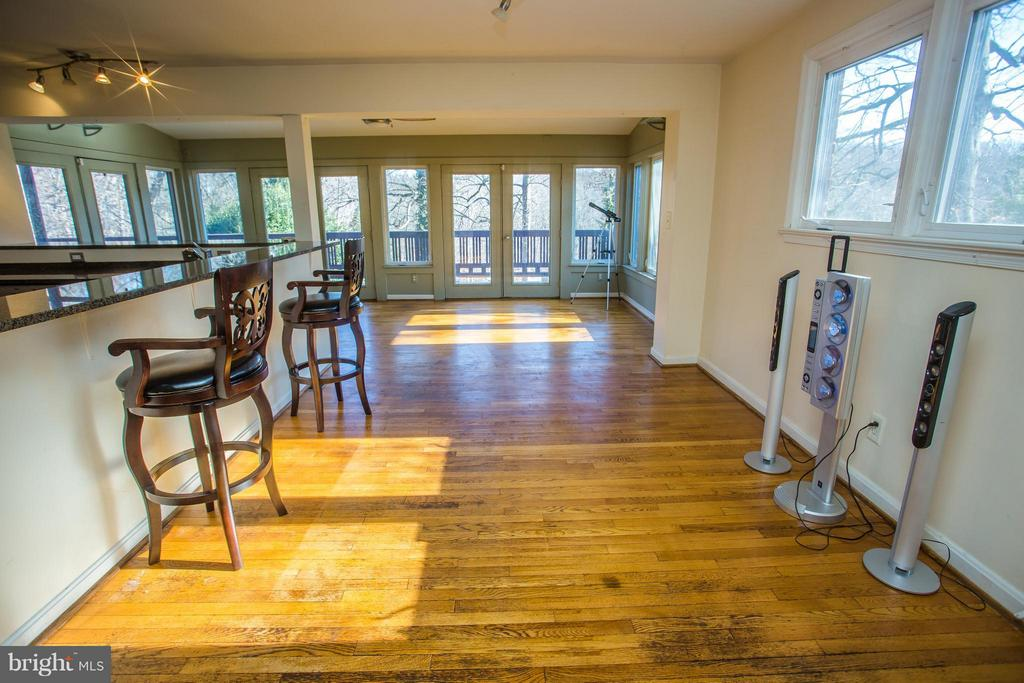 Breakfast table area, or room to host - 7019 31ST ST NW, WASHINGTON