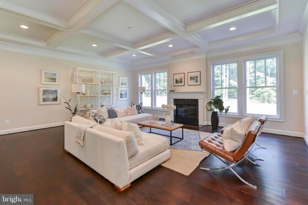 Family Room - 5680 WILLOW BROOK LN, FAIRFAX