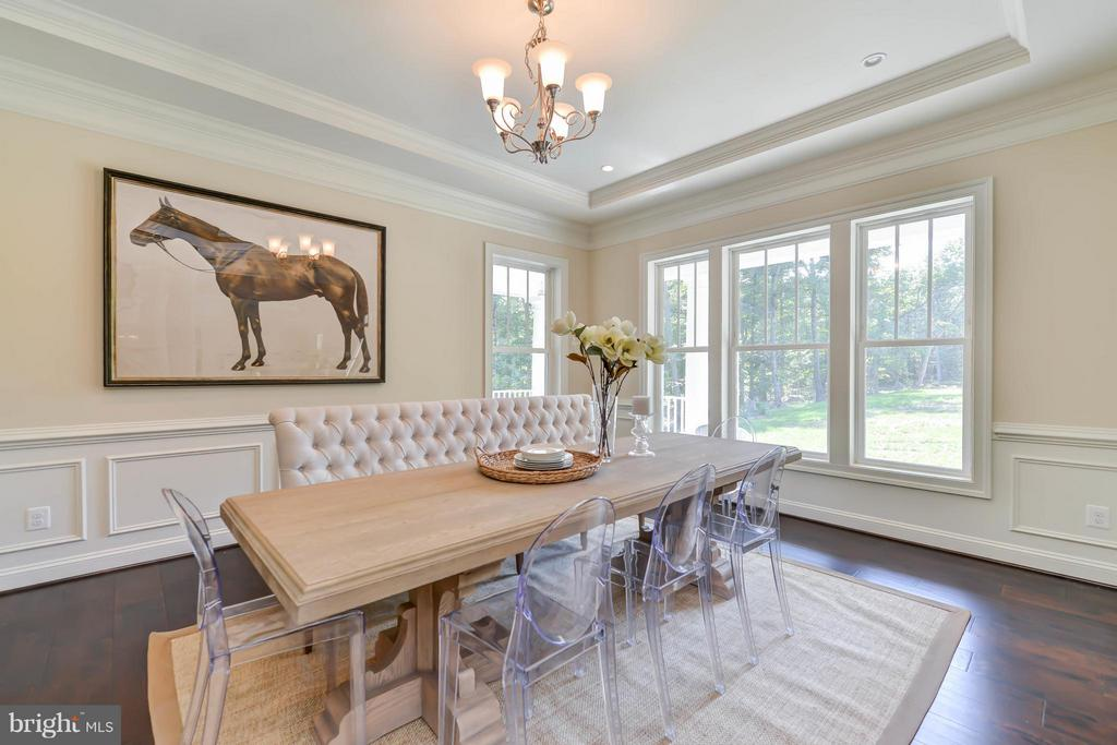 Dining Room - 5680 WILLOW BROOK LN, FAIRFAX