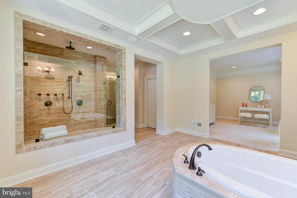 Bath (Master) - 12211 DEER CREST CT, FAIRFAX