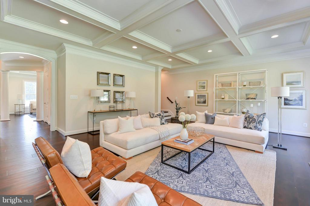 Family Room - 12211 DEER CREST CT, FAIRFAX