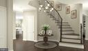 Foyer - 5650 WILLOW BROOK LN, FAIRFAX
