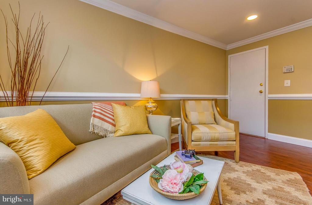 Living Room - 4929 FOOTE ST NE #1, WASHINGTON