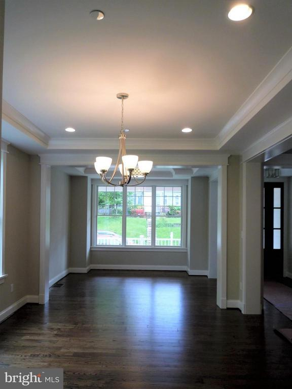 Dining Room and Living Room - 5919 RYLAND DR, BETHESDA