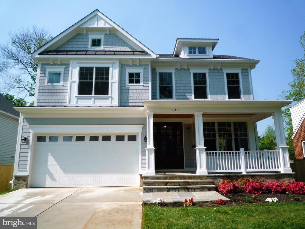 Front view - 5919 RYLAND DR, BETHESDA