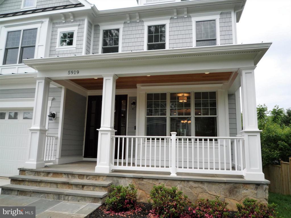 Front Porch - 5919 RYLAND DR, BETHESDA