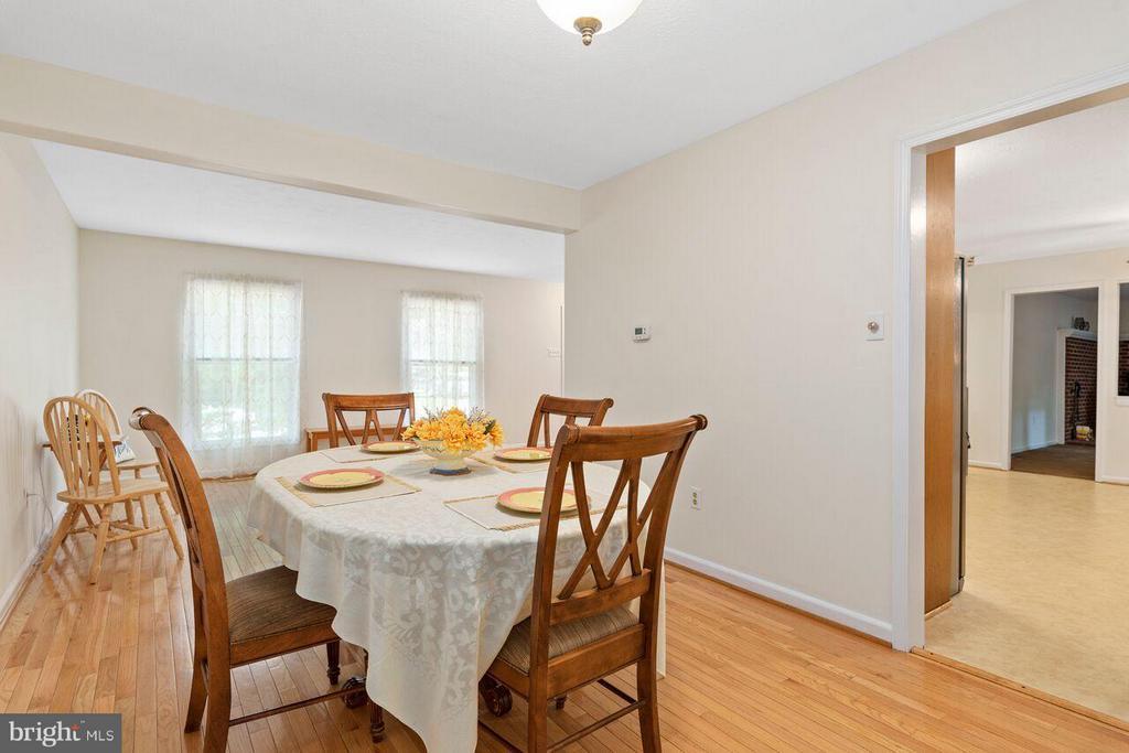 Separate Dining room - 16116 INDUS DR, WOODBRIDGE