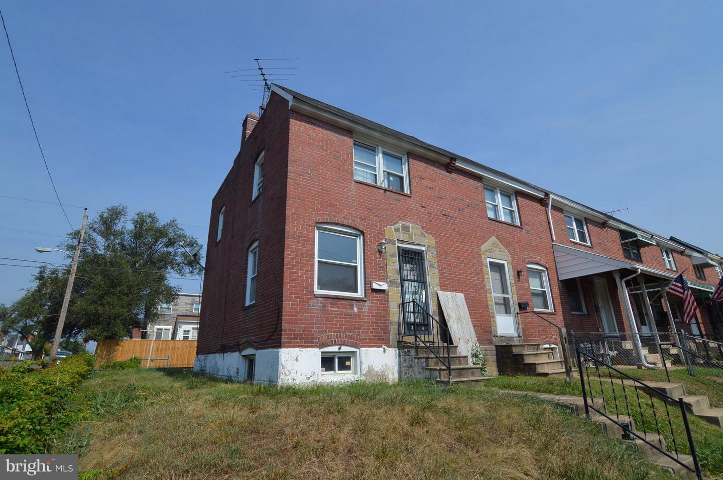 Single Family for Sale at 3744 10th St Baltimore, Maryland 21225 United States
