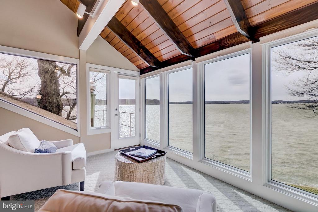 Master Bedroom- Sweeping Severn Views - 312 RUGBY COVE RD, ARNOLD