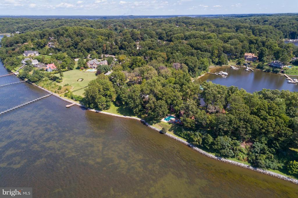 Water on two sides- Severn River and Cove - 312 RUGBY COVE RD, ARNOLD