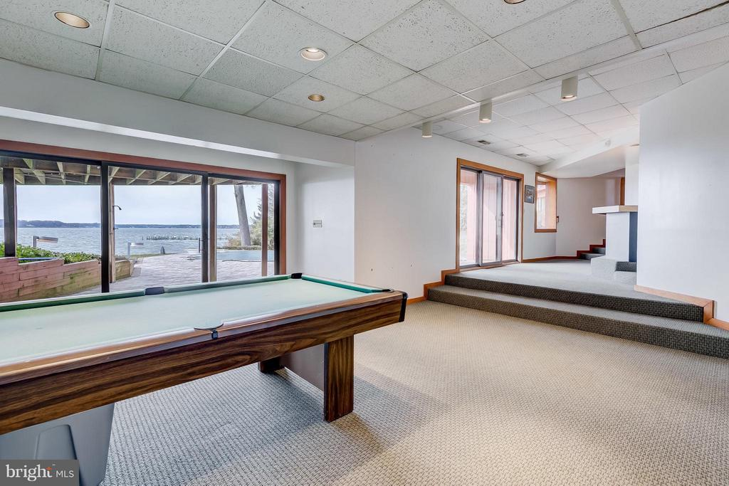 Lower Level Recreation Room - 312 RUGBY COVE RD, ARNOLD