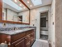 MBath w/ double sink granite sep. shower - 7621 STEWART HILL RD, ADAMSTOWN