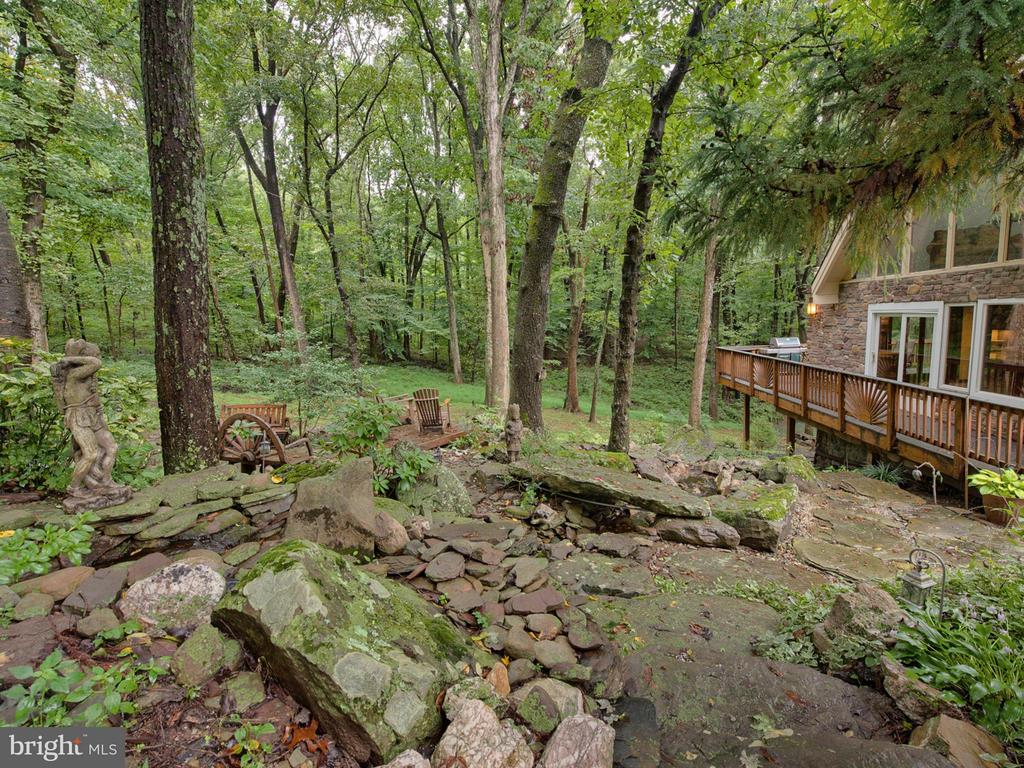 Landscape / hardscape around the property - 7621 STEWART HILL RD, ADAMSTOWN