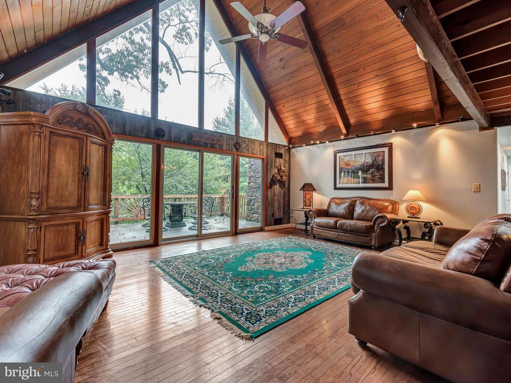 Living Room with breath taking views - 7621 STEWART HILL RD, ADAMSTOWN