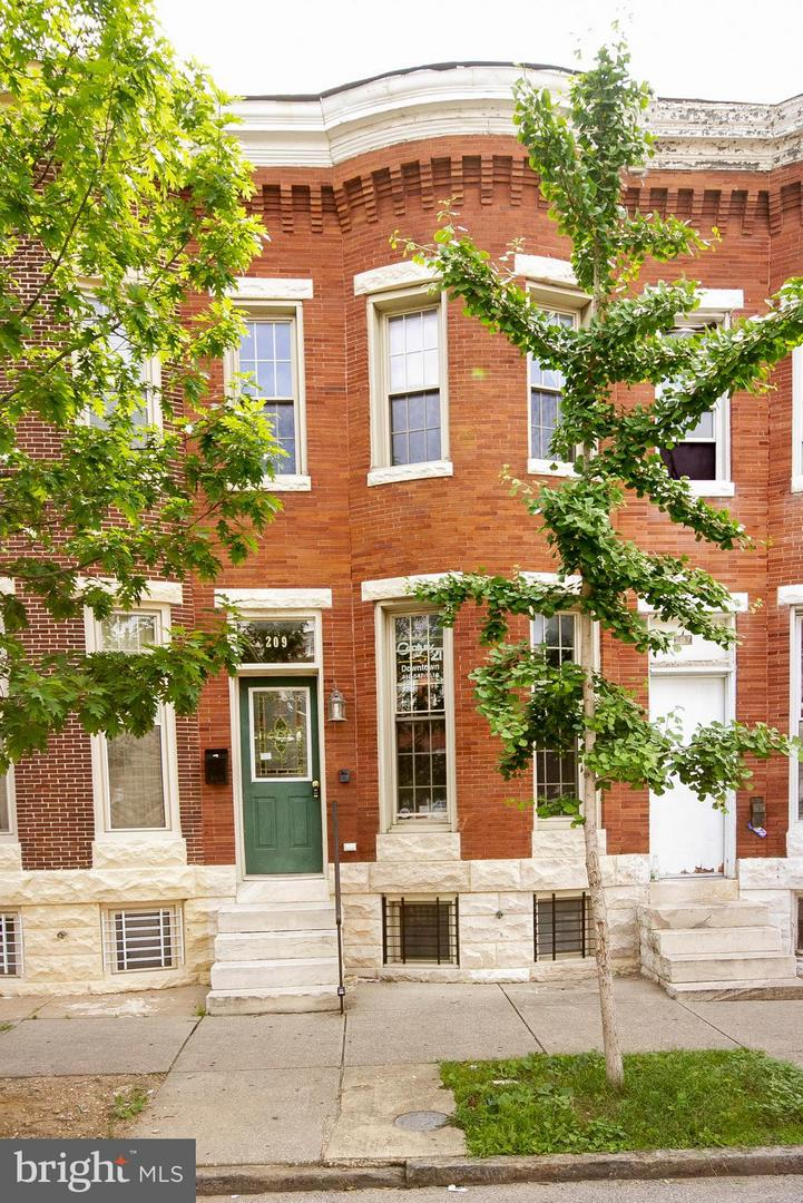 Single Family for Sale at 209 Luzerne Ave N Baltimore, Maryland 21224 United States